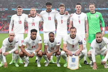 Daftar Skuad Pemain Timnas Inggris Terbaru [EURO 2021]
