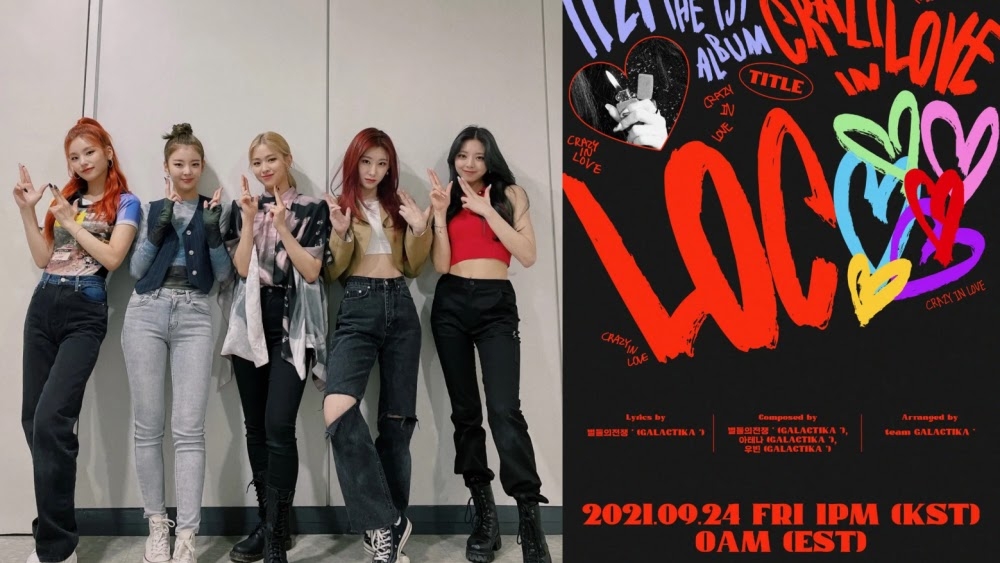 ITZY Surprises Fans With The Teaser Poster For Upcoming Comeback!