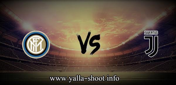 نتيجة مباراة يوفنتوس وانتر ميلان اليوم السبت 15-5-2021 يلا شوت الجديد في الدوري الايطالي