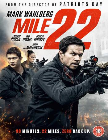 Mile 22 (2018) [Dual-Audio] [Hindi-English] 480p BluRay x264 300MB ESubs Downlaod