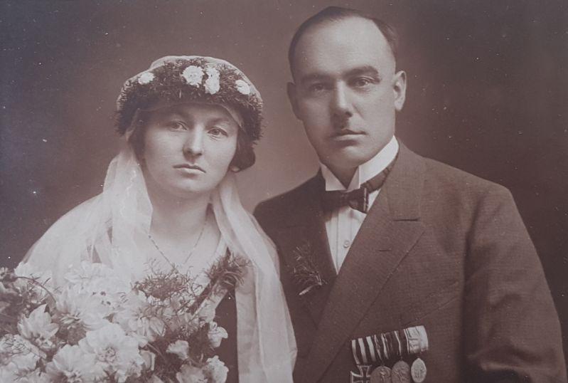 Hochzeitsbild meiner Großeltern