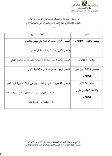 وزير التعليم: المناهج المقررة للطلاب حتى 15 مارس | أخبار مشروع بحث الطالب