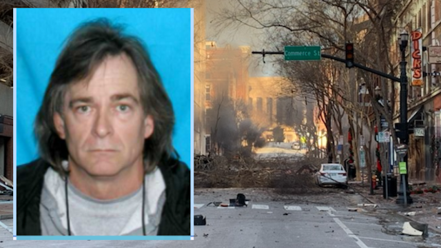 Antony Warner is the Nashville Bomber.He was a conspiracy theorist.He has died in the blast!