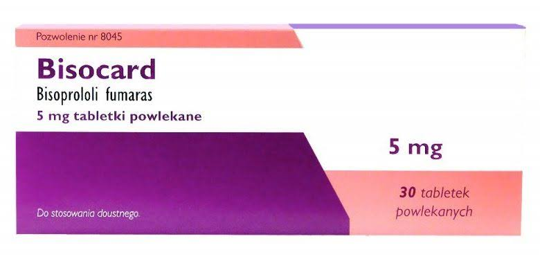 سعر ودواعي استعمال أقراص بيزوكارد bisocard لعلاج الضغط