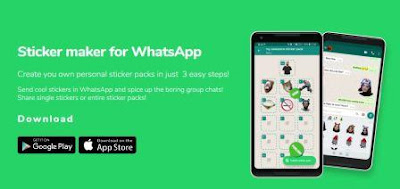 Membuat Sticker WA dengan Sticker Maker for WhatsApp