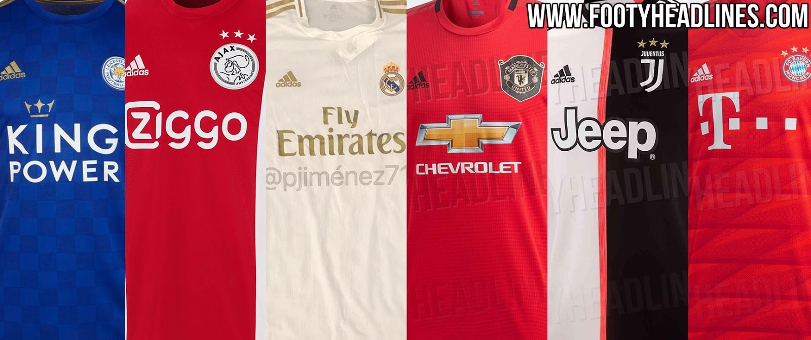 ac486761d9d All Adidas 19-20 Home Kits Leaked   Released - Ajax
