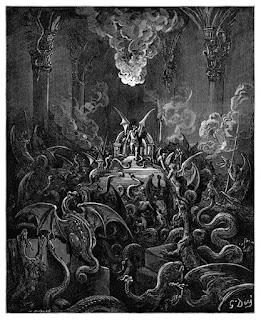 Dreadful Was the Din; Gustave Dore