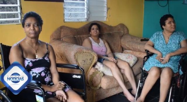 Video: Claman por ayuda de tres hermanas en Los Alcarrizos que sufren una extraña enfermedad