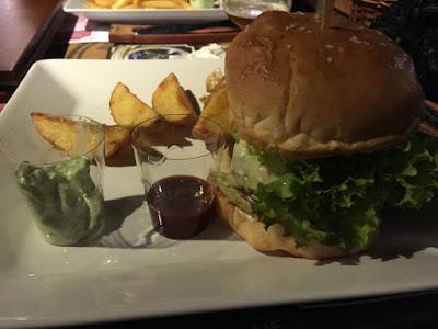 Hambúrguer de Cordeiro.
