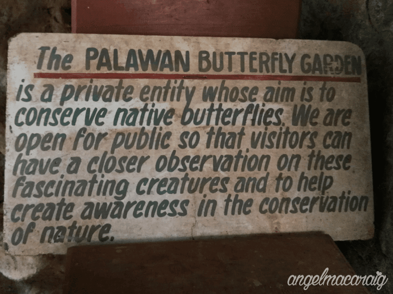 Butterfly Garden Signage