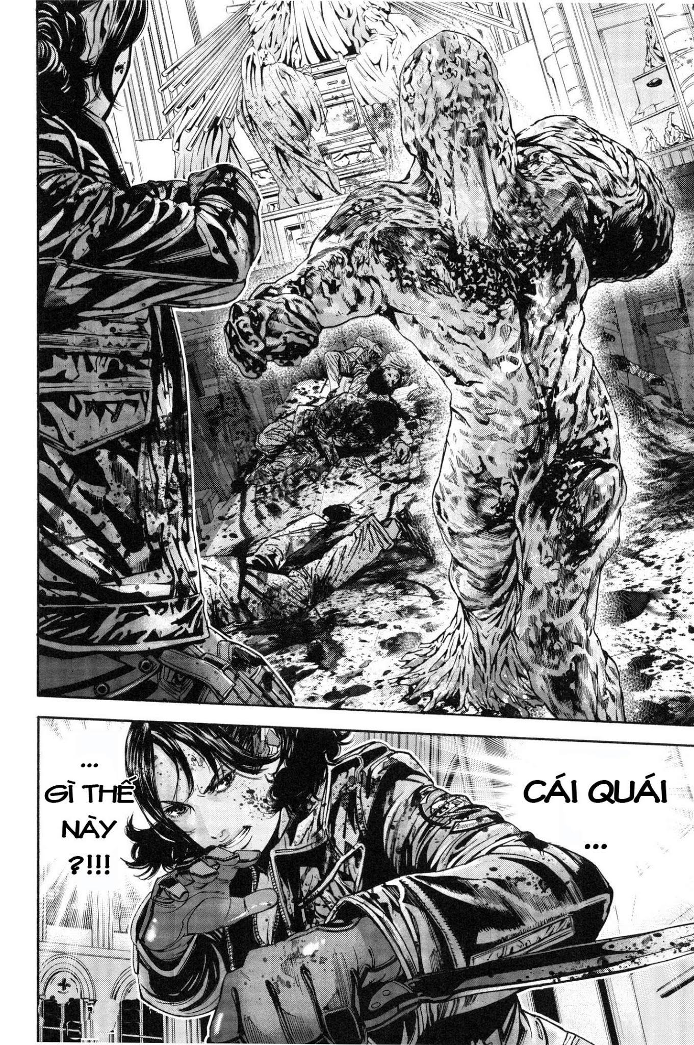Resident Evil Biohazard Marhawa desire chapter 27: kén nhộng trang 20