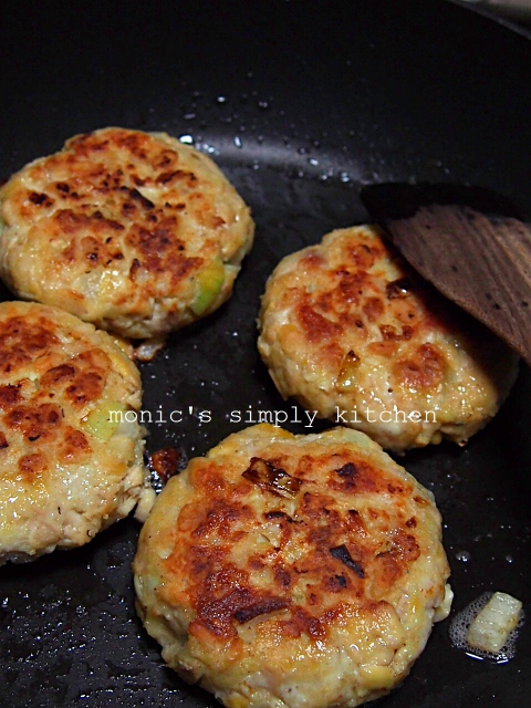 memasak patty tempe