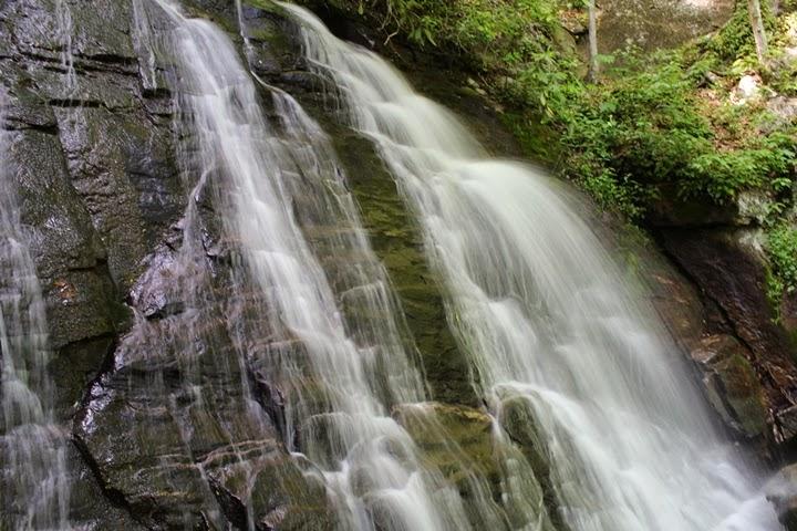 Deep Creek Falls, Bryson City, North Carolina
