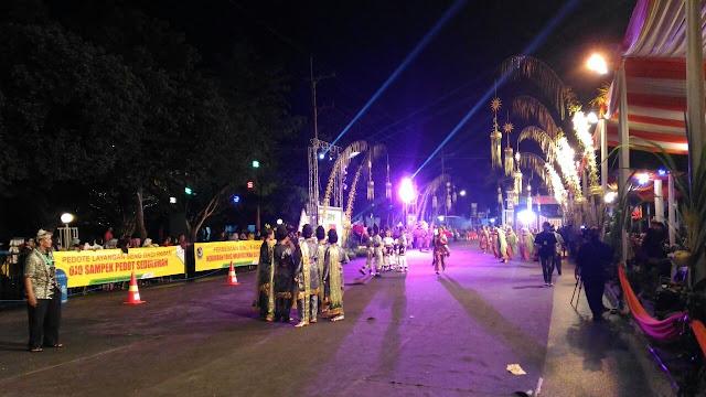 Night Festival di Banyuwangi.