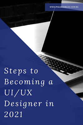 Steps to becoming a UI/UX Designer in 2021