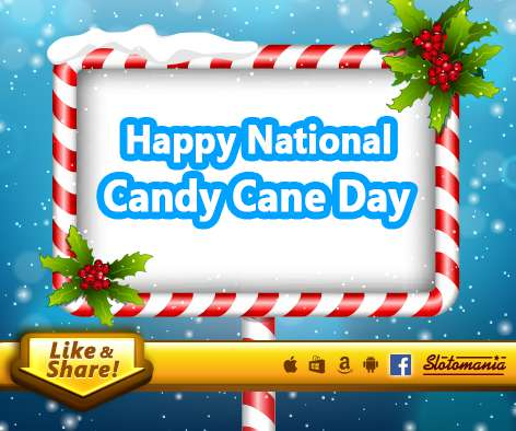 National Candy Cane Day Wishes Images