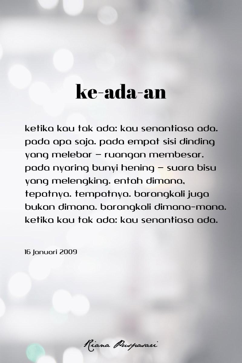 Puisi Keadaan