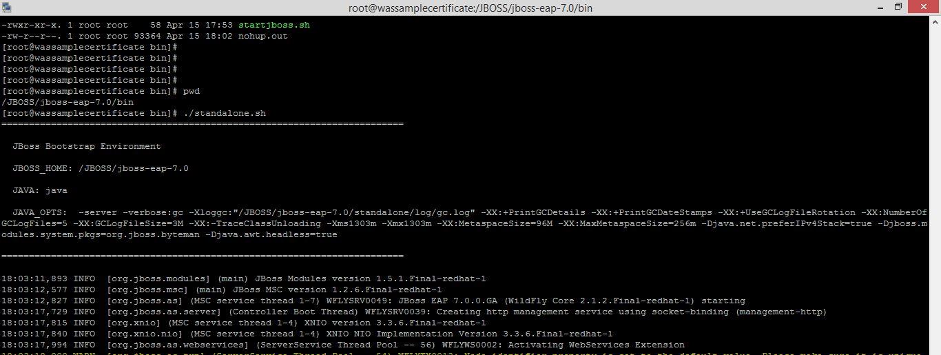 MiddlewareBox: Method 2: JBOSS Server- Application Deployment using