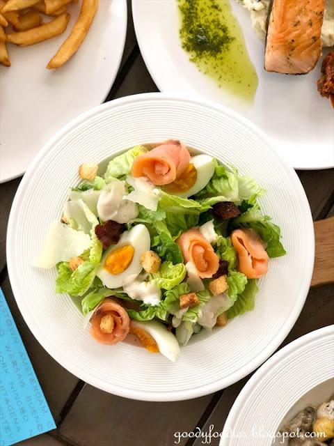 Sofitel KL caesar salad
