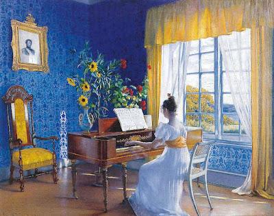 Interiør Jeløen Moss (1898), Asta Norregaard
