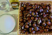crema castañas dulce puré receta ingredientes