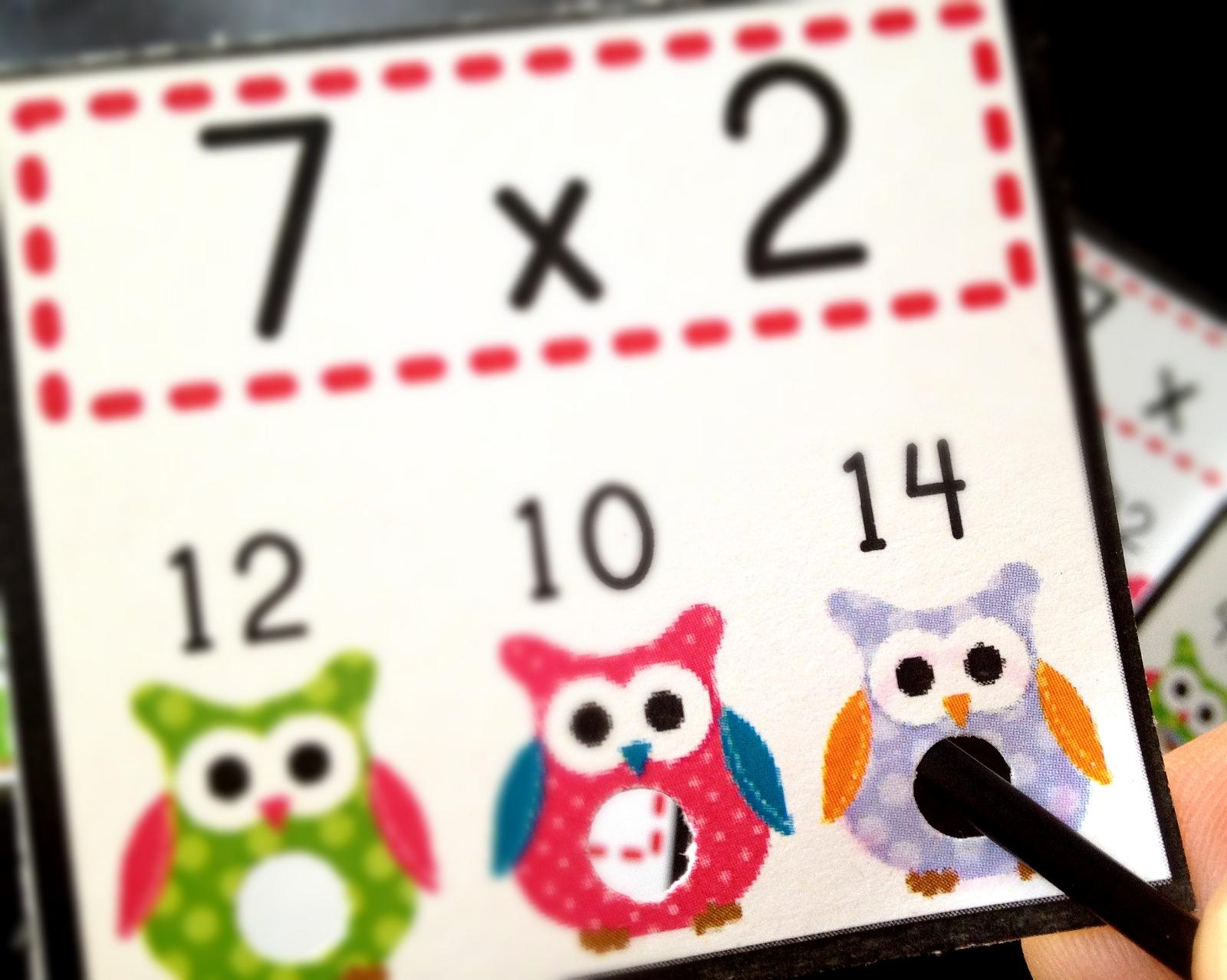 Flapjack Educational Resources H Owl Oween Poke Math