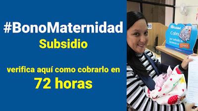 Subsidio por Maternidad, verifica los requisitos para COBRAR el #BonoMaternidad Link de los formularios