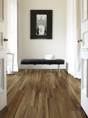 A floor so realistic you'd never know it wasn't really hardwood