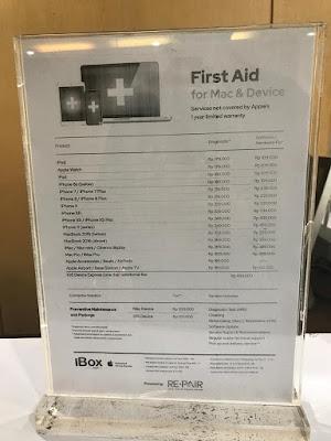 Estimasi Biaya Service di iBOX