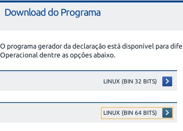 Dicas Linux e Windows - Como instalar o programa de declaração do imposto de renda 2019 no Linux