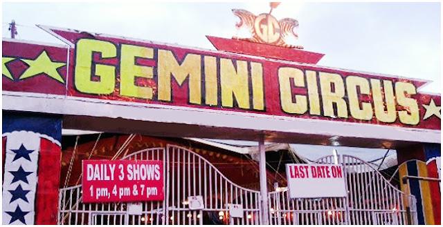 Gemini Circus in Etawah