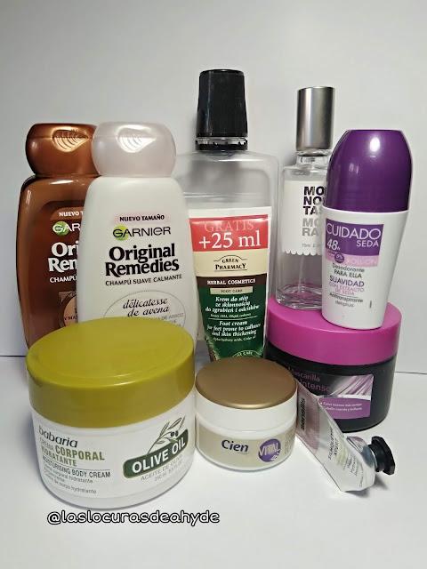 productos cosmeticos terminados