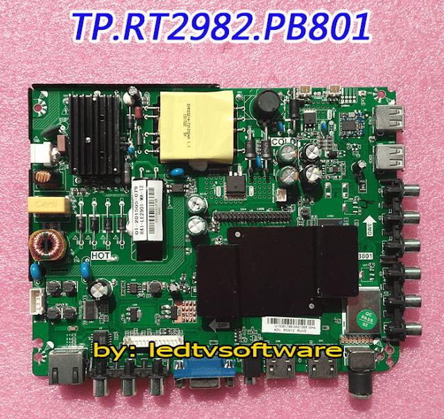 TP.RT2982.PB801 Emmc Pinout Free Download