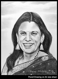 Top Best Professional Photo Portrait Pencil Drawing Graphite Charcoal Sketch Artist in Hyderabad Telangana INDIA