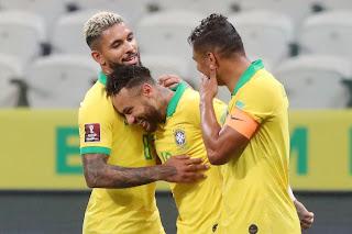 البرازيل تستلم صدارة ترتيب مجموعة امريكا الجنوبية في رحلة الوصول لقطر 2022