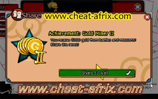 Cheat ATM Exp 2013 New Ninja Saga 100% Work