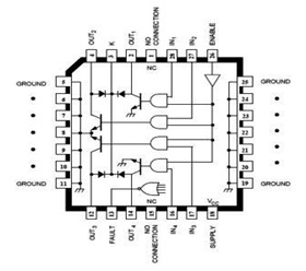 IC A2557 Automotive Relay Driver Pinout and Datasheet