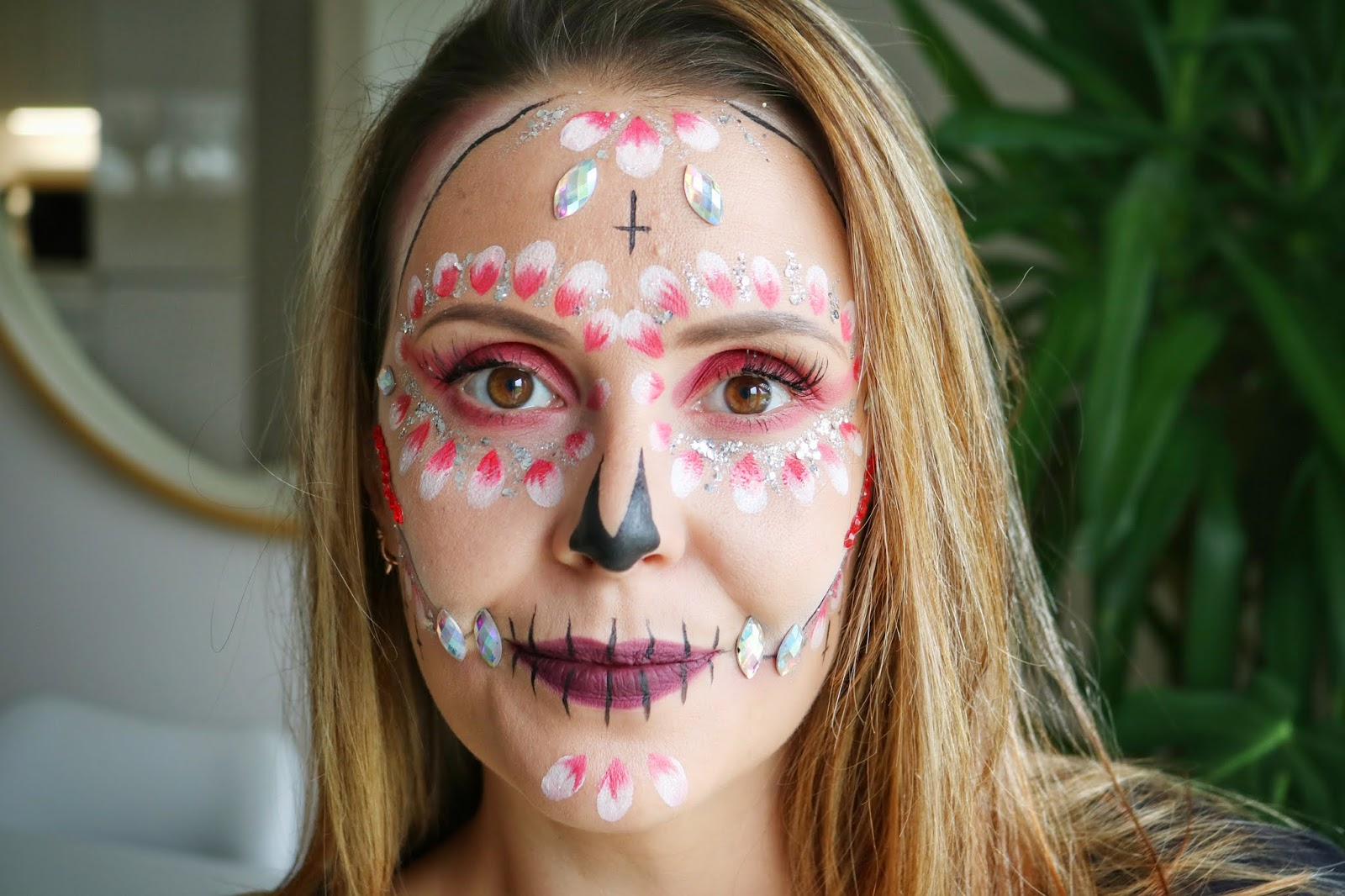 A Simple Skeleton Look For Halloween | AD
