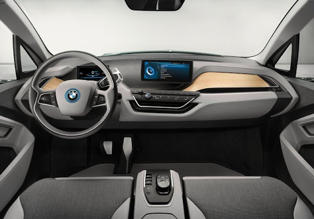 2013 BMW I3 Concept Coupe Dashboard