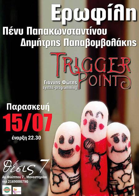 Trigger Point στο Θέσις 7