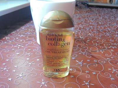 Wtorek włosomaniaczki-OGX Biotin&Collagen Oil