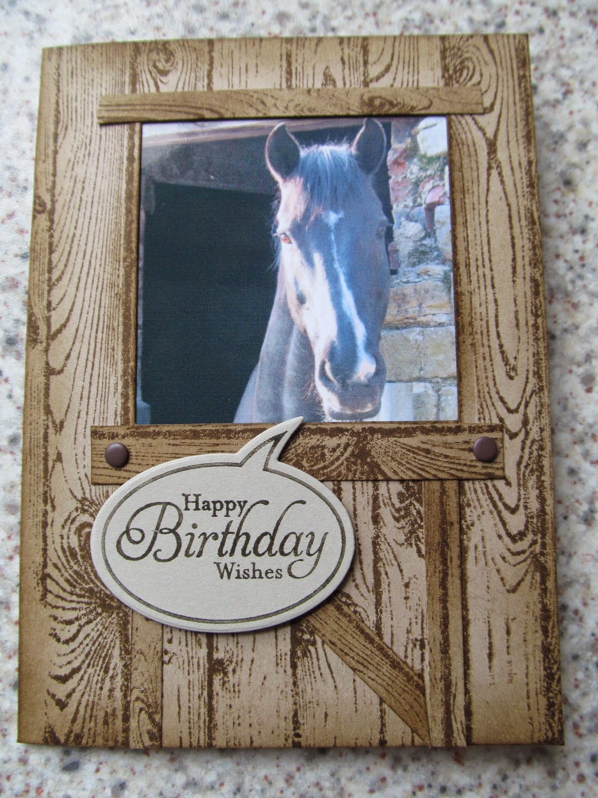 Jemini Crafts Personalised Card April 2014 www.jeminicrafts.co.uk