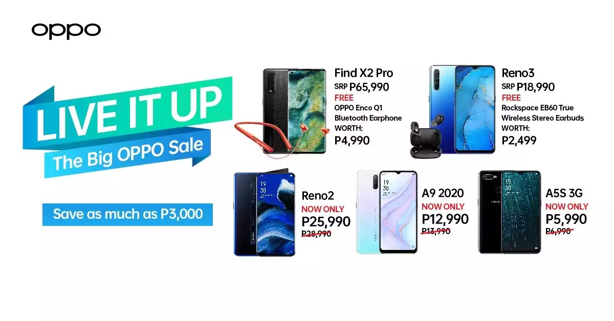 The Big OPPO Sale 2020