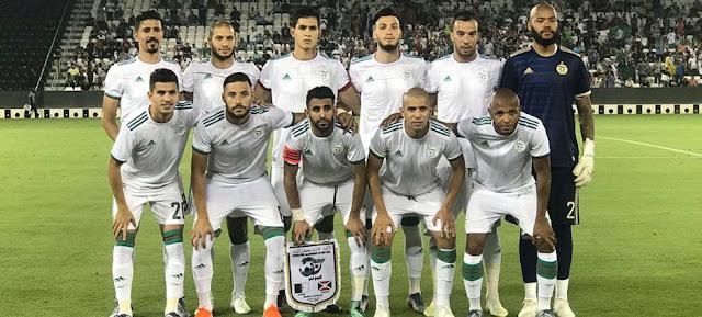 تشكيل منتخب الجزائر امم افريقيا 2019 عبر سوفت سلاش