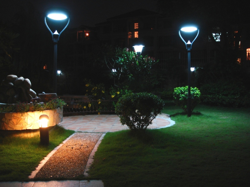 Outdoor Lighting For Gardens Led Garden Light Outdoor Path