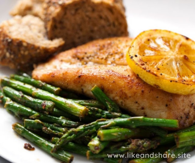 LEMON CHICKEN WITH ASPARAGUS RECIPE