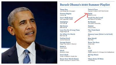 Wizkid's Music Titled 'SMILE' Makes Barack Obama's 2020 Summer Playlist