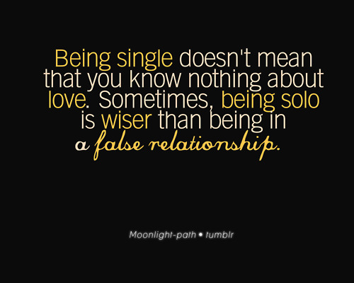 Quotes That Mean Nothing: Life Is Unexpected: I Am Single And Let It Stay: