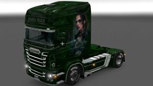 Scania RJL Green Lady skin