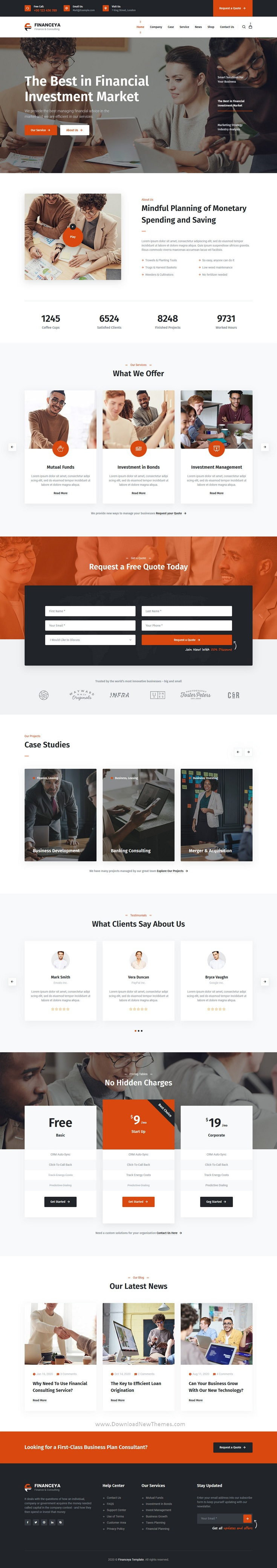 Business, Consulting & Accounting Responsive Template